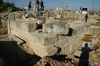 Hexamilion wall - Image: Hexamilion 3