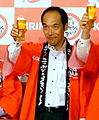 Hideo Higashikokubaru at the Kirin's event 2008 cropped.jpg