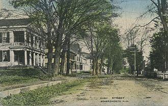 Somersworth, New Hampshire - High Street, c. 1910