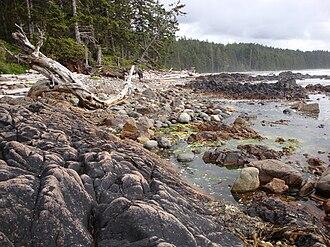 North Coast Trail - Image: High Tide Christensen Coast