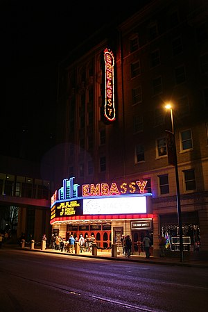 Historic Embassy Theatre and Indiana Hotel, Fo...