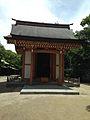 Hoanden of Emperor Kameyama's Statue in Hakozaki Shrine.jpg