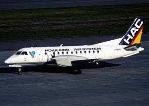 Hokkaido Air System - Hokkaido Air System Saab 340B-WT JAS-era HAC livery