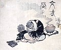 Hokusai tea-kettle raccoon.jpg