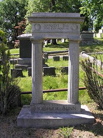Holbrook Blinn - The gravesite of Holbrook Blinn