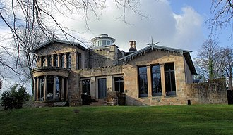 "Architecture in Glasgow - The Holmwood House villa in Cathcart, designed by Alexander ""Greek"" Thomson."