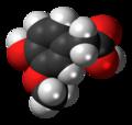 Homovanillic acid 3D spacefill.png