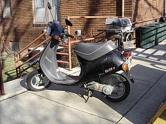 Honda Elite - Image: Honda Elite E