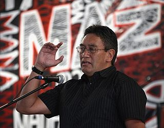 Hone Harawira New Zealand politician