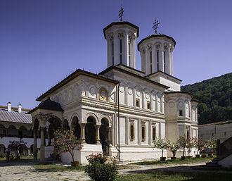 Brâncovenesc style - Horezu Monastery, Vâlcea County.