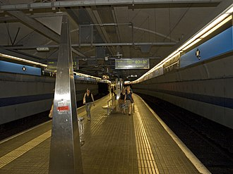 Horta (Barcelona Metro) - The platform