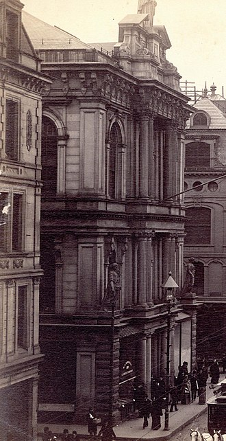 Horticultural Hall, Boston (1865) - Horticultural Hall in 1891