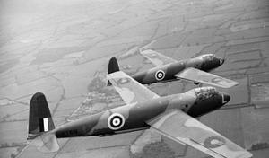 General Aircraft Hotspur - Image: Hotspur Mk I Is in flight
