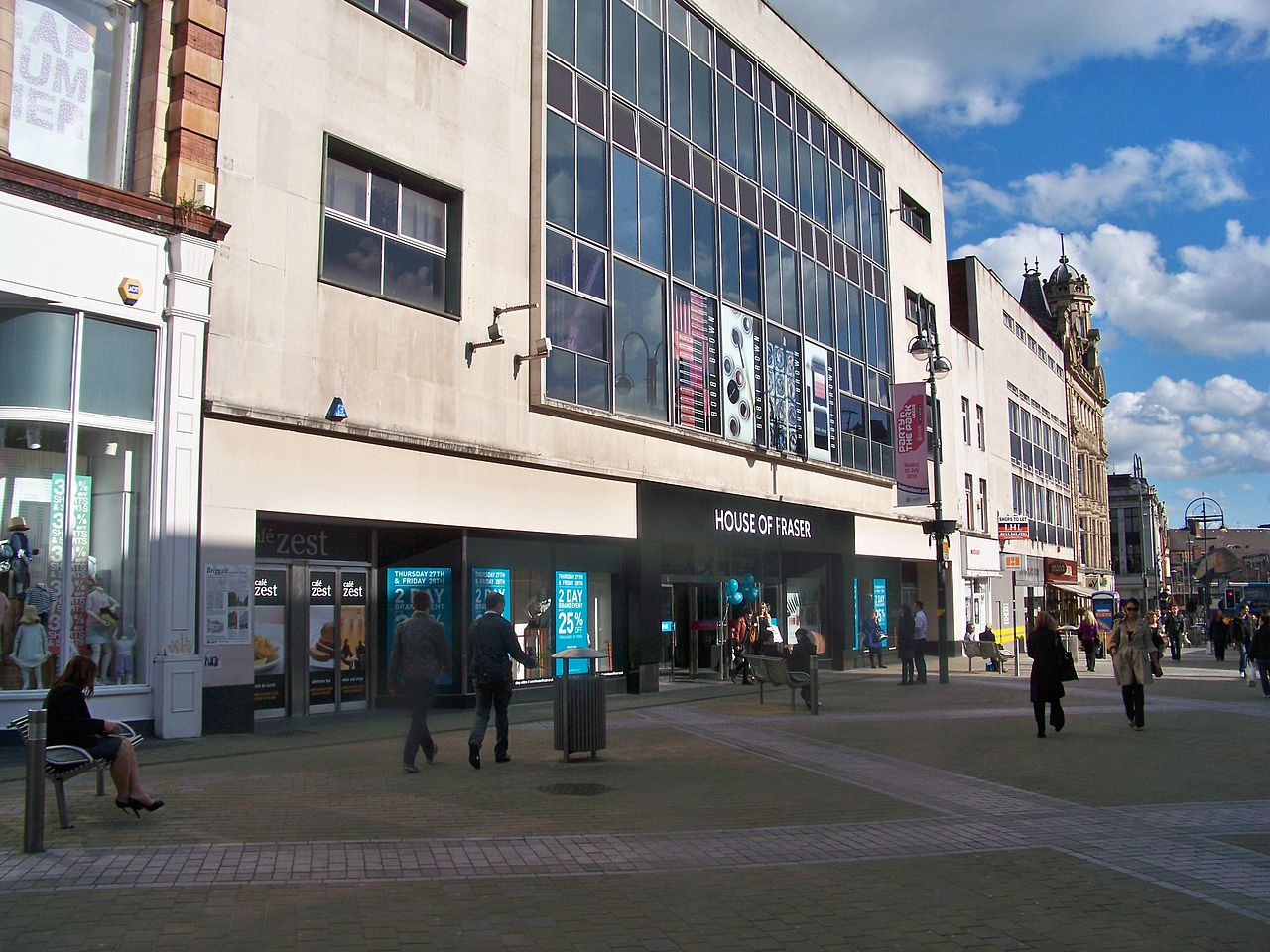File house of fraser briggate leeds 27th may 2010 jpg for Housse of fraser
