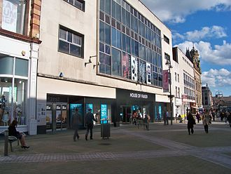 House of Fraser - House of Fraser on Briggate in Leeds