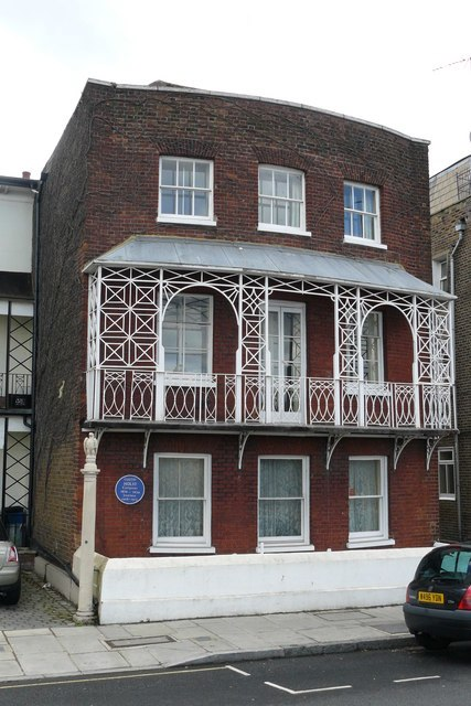 House on The Terrace, Barnes - geograph.org.uk - 1309706