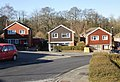 Houses on the north side of Alanbrooke Avenue, Malpas, Newport - geograph.org.uk - 1742859.jpg