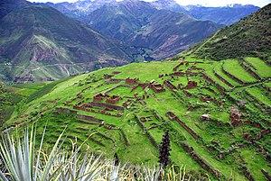 Huchuy Qosqo - Huchuy Qosqo overlooking the Sacred Valley.