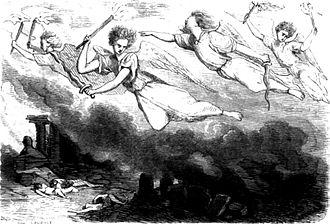 Les Orientales - Illustration by Gérard Seguin, 1854