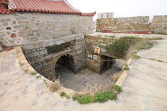 Wokou - One of the gates of the Chongwu Fortress on the Fujian coast (originally built ca. 1384)