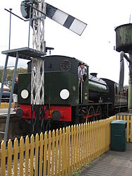 Hunslet Austerity 0-6-0ST No.WD198 Royal Engineer at Havenstreet (3500722012).jpg
