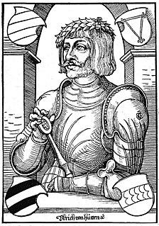 Ulrich von Hutten German scholar, poet and reformer (1488-1523)