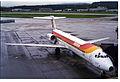 IBERIA MD-87; EC-EYX@ZRH;10.12.1994 (4906197068).jpg