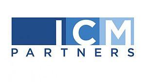 ICM Partners - Image: ICM Partners Logo White
