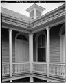 INNER COURT YARD, SECOND STORY VERANDA - Eduardo H. Gato House, 1209 Virginia Street, Key West, Monroe County, FL HABS FLA,44-KEY,5-5.tif
