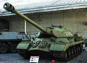 Heavy tank - A Soviet IS-3 heavy tank