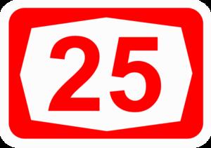 Highway 25 (Israel) - Image: ISR HW25