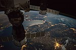 ISS-49 Strait of Gibraltar nighttime view.jpg