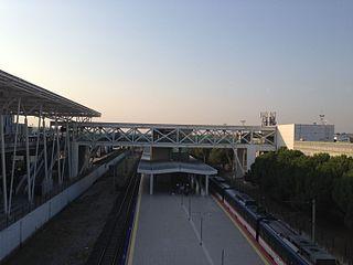 Adnan Menderes Airport railway station railway station in İzmir