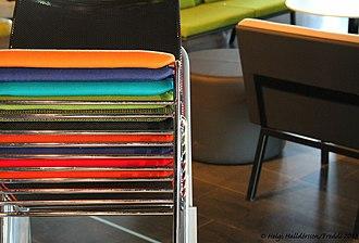 Scandinavian design - Stacking chairs, Iceland