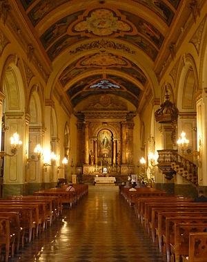 Iglesia San Agustín, Chile - Iglesia San Agustín interior