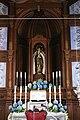 Igreja de Nossa Senhora das Angústias, altar mor, Angustias, concelho da Horta, ilha do Faial, Açores, Portugal.JPG