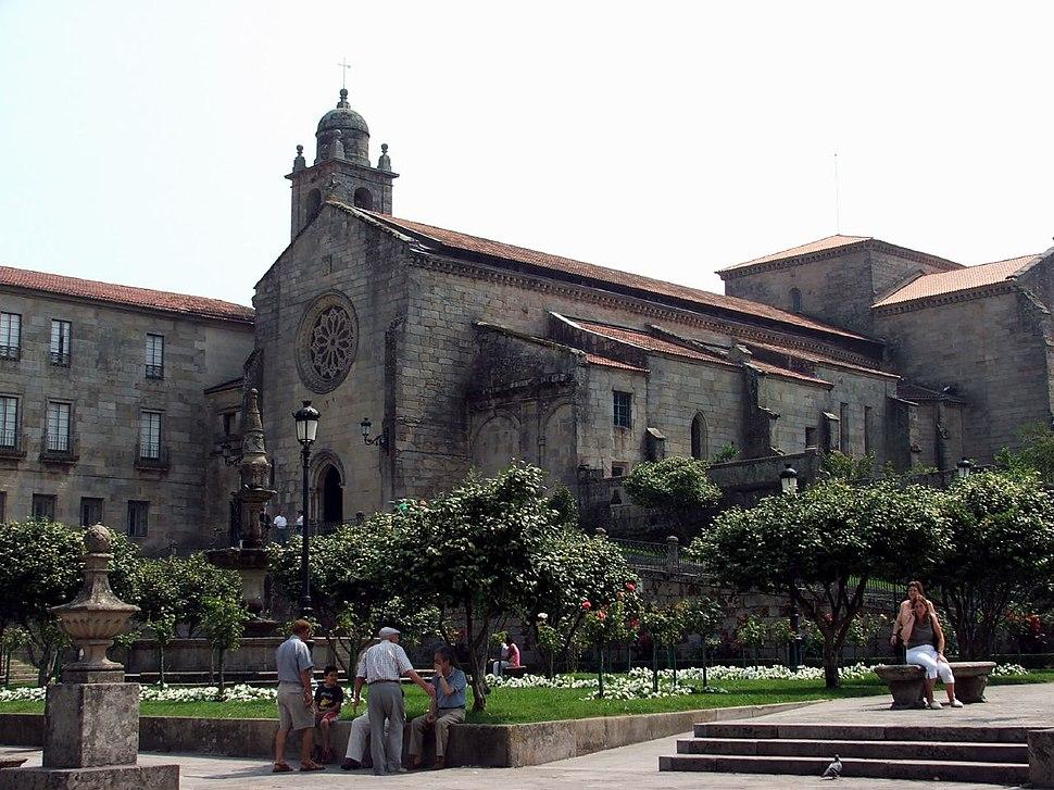 Igrexa de Pontevedra Galicia