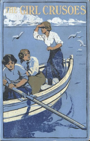 File:Illus by N Tension for The Girl Crusoes (1912) by Mrs Herbert Strang-cover.jpg