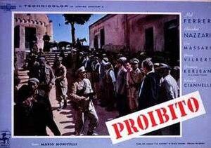 Proibito - Film poster