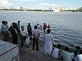 Immersion Of Asthi Into River Ganga - Ramkrishnapur Ghat - Howrah 20170627160455.jpg