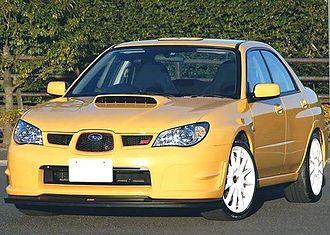 Subaru Impreza (second generation) - Subaru Impreza WRX STI Spec.C Type RA-R