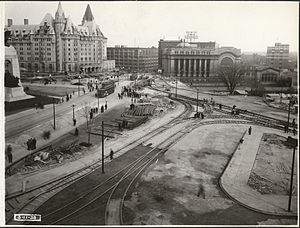 Confederation Square - November 3, 1938