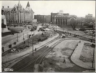Confederation Square - November 3, 1938