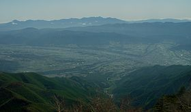 Ina Nagano and Yatsugatake from Mount Chausu.JPG