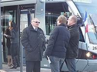 Inauguration de la branche vers Vieux-Condé de la ligne B du tramway de Valenciennes le 13 décembre 2013 (073).JPG