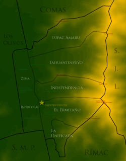Independencia Map