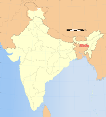 India Meghalaya locator map.svg