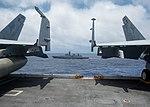 Indian Navy Shivalik-class stealth multi-role frigate INS Sahyadri (F49) steams alongside USS John C. Stennis (CVN 74) during Malabar 2016.jpg