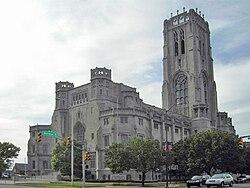 La Indianapolis Scottish Rite Cathedral.