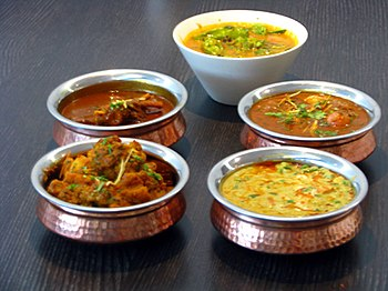 English: Indian curries